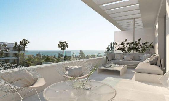Апартаменты в Эстепоне, Марбелья, 171 м2, сад, бассейн, парковка   | 4