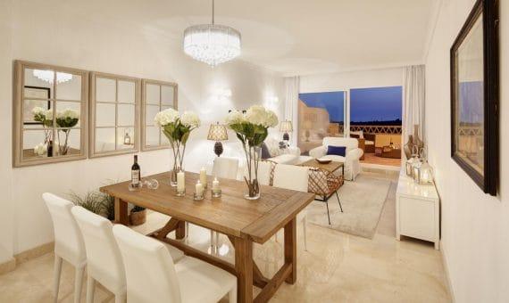 Apartamento en Marbella 119 m2, jardin, piscina, aparcamento   | 2