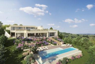 Villa en Benahavis, Marbella, 1134 m2, jardin, piscina, aparcamento