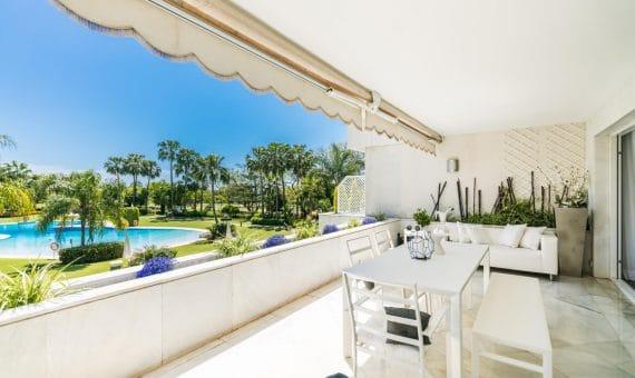 Апартаменты в Новой Андалусии, Марбелья, 299 м2, сад, бассейн, парковка   | 3