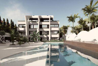Апартаменты в Восточной Марбелье, 209 м2, сад, бассейн, парковка