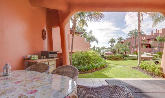 Апартаменты в Эстепоне, Марбелья, 147 м2, сад, бассейн, парковка   | 2