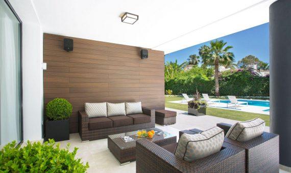 Villa en Marbella 880 m2, jardin, piscina   | 3