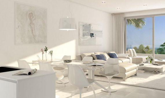 Апартаменты в Эстепоне, Марбелья, 171 м2, сад, бассейн, парковка   | 2