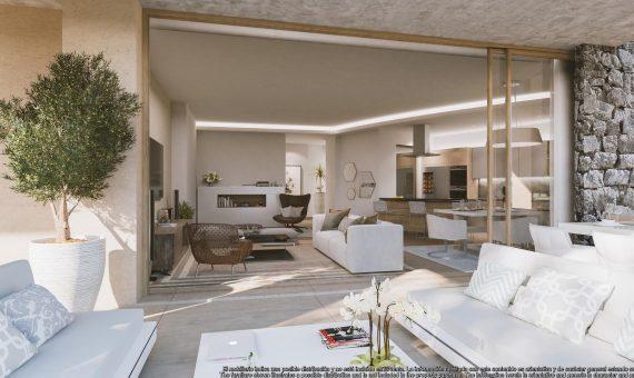 Apartment in Benahavis, Marbella, 136 m2, garden, pool, parking   | 2