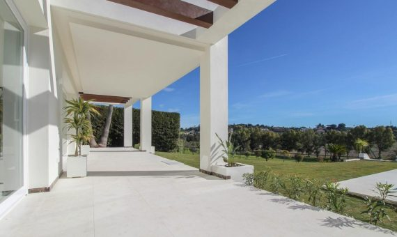 Villa in Benahavis, Marbella, 400 m2, garden, pool, parking   | 1