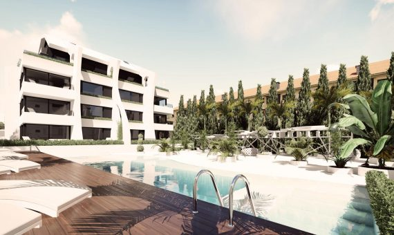 Apartment in Marbella East, 119 m2, garden, pool, parking   | 4