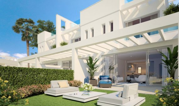 Townhouse in Mijas Costa, Marbella, 230 m2, garden, pool, parking   | 3f2ef6a5-aabc-45f0-9601-a9c8b3cb5e0f-570x340-jpg