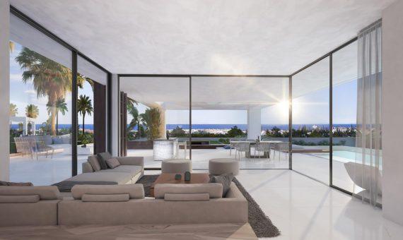 Villa in Estepona, Marbella, 445 m2, garden, pool     4