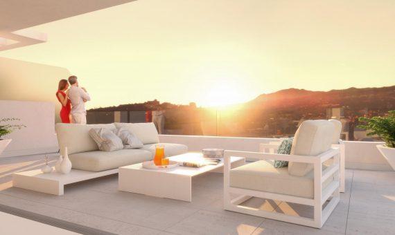 Апартаменты в Эстепоне, Марбелья, 214 м2, сад, бассейн, парковка     3