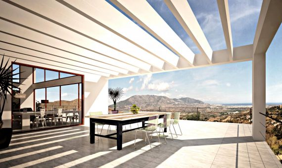 Villa in Ojen, Marbella, 747 m2, garden, pool, parking   | 4