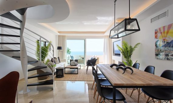 Апартаменты в Эстепоне, Марбелья, 264 м2, сад, бассейн, парковка     3