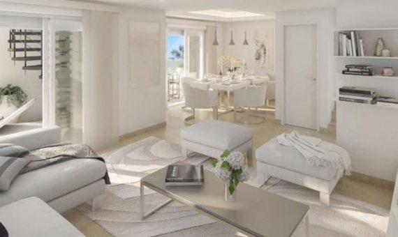 Apartamento en Marbella 59 m2, jardin, piscina, aparcamento   | 4