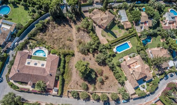 Plot en Marbella Golden Mile, 1808 m2 -