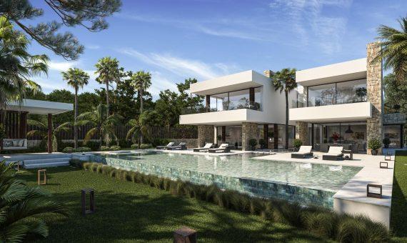 Villa in San Pedro de Alcantara, Marbella, 1065 m2, garden, pool, parking   | 4