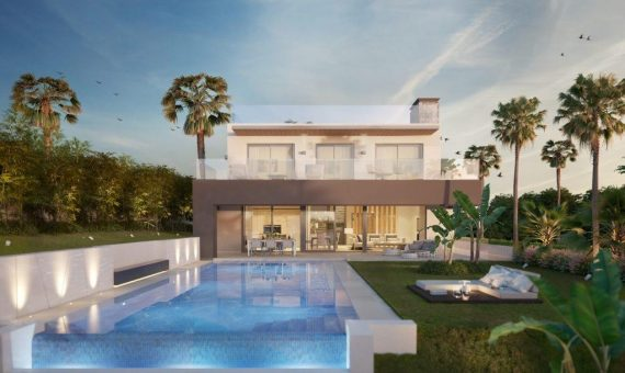 Villa in Nueva Andalucia, Marbella, garden, pool, parking   | 1