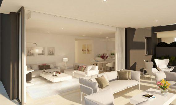 Apartamento en Marbella 147 m2, jardin, piscina, aparcamento   | 2