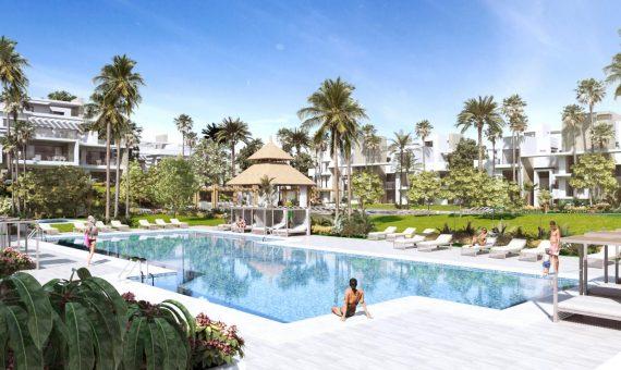 Apartment in Marbella 152 m2, garden, pool, parking   | 4