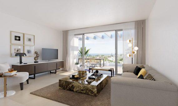 Apartamento en Marbella 139 m2, jardin, piscina, aparcamento   | 2