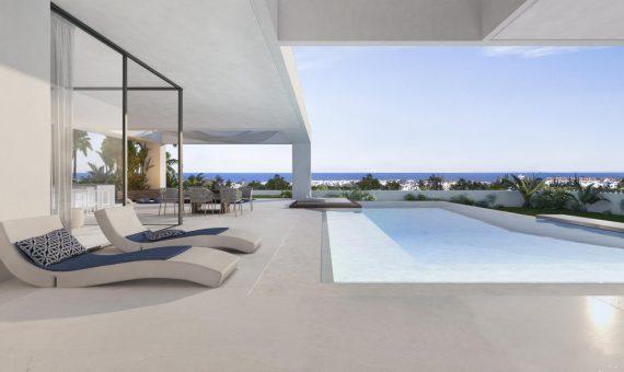 Villa en Marbella 445 m2, jardin, piscina   | 3