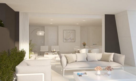 Apartment in Marbella 142 m2, garden, pool, parking   | 2