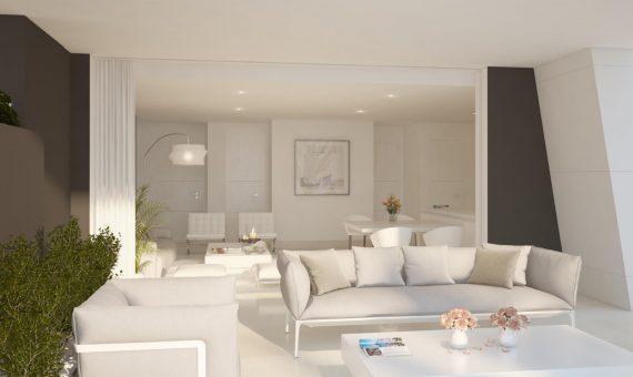 Apartamento en Marbella 142 m2, jardin, piscina, aparcamento   | 3