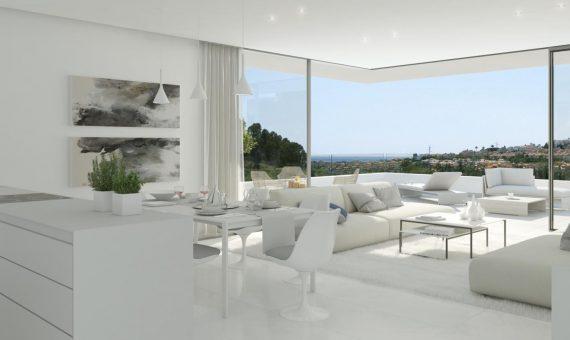 Апартаменты в Эстепоне, Марбелья, 214 м2, сад, бассейн, парковка     4