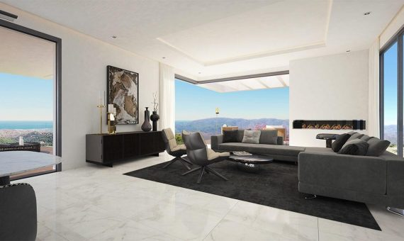 Villa in Benahavis, Marbella, 825 m2, garden, pool, parking   | 2