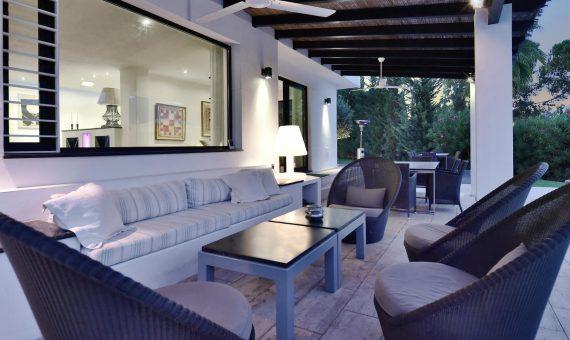 Вилла в Новой Андалусии, Марбелья, 390 м2, сад, бассейн, парковка   | 4