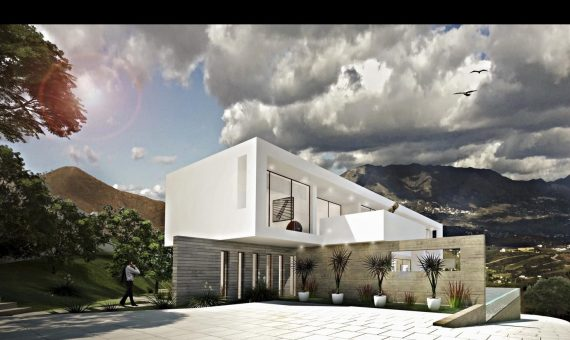 Villa in Ojen, Marbella, 356 m2, garden, pool, parking   | 4