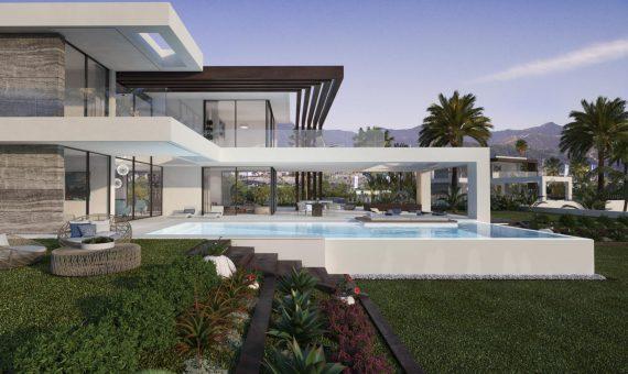 Villa en Marbella 445 m2, jardin, piscina   | 2