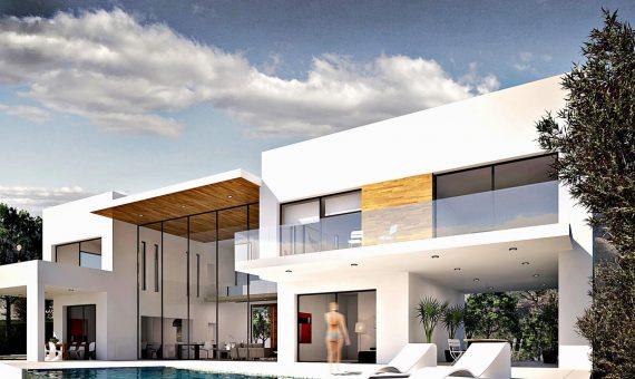 Villa in Ojen, Marbella, 620 m2, garden, pool, parking   | 4
