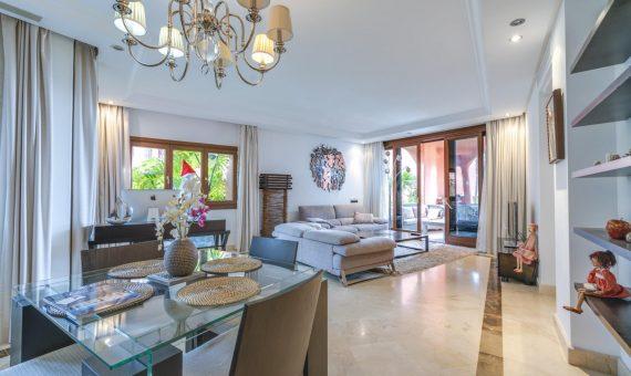 Апартаменты в Эстепоне, Марбелья, 147 м2, сад, бассейн, парковка   | 3