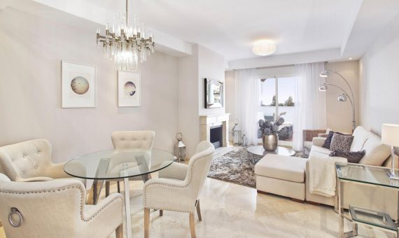 Apartment in Nueva Andalucia, Marbella, 116 m2, garden, pool, parking   | 1