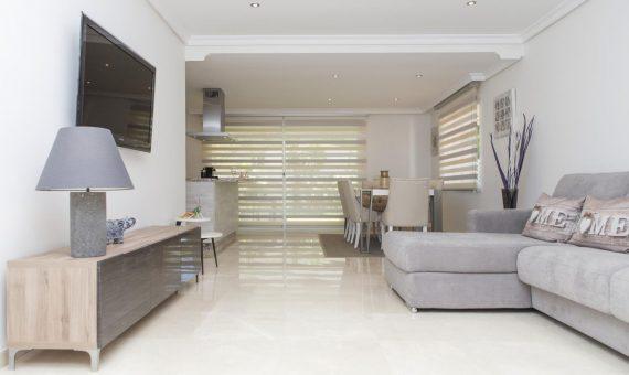 Апартаменты в Марбелье 144 м2, сад, бассейн, парковка   | 2