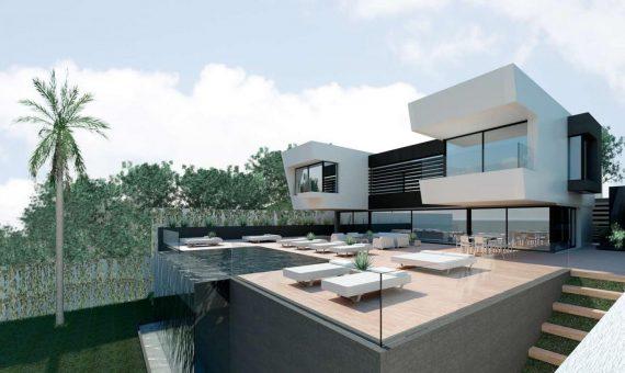 Villa en Benahavis, Marbella, 500 m2, jardin, piscina, aparcamento -