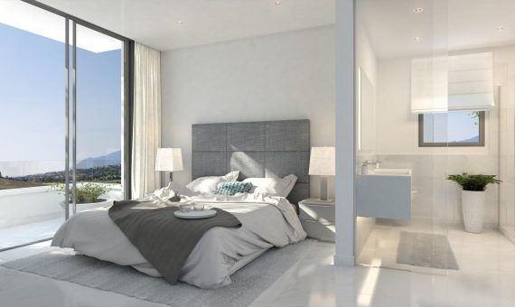 Apartment in Estepona, Marbella, 214 m2, garden, pool, parking     4