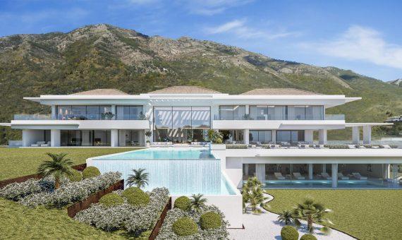 Villa in Benahavis, Marbella, 3000 m2, garden, pool -