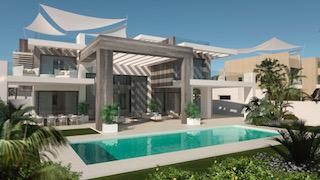 Villa in Marbella Golden Mile, 1693 m2, garden, pool, parking   | 1