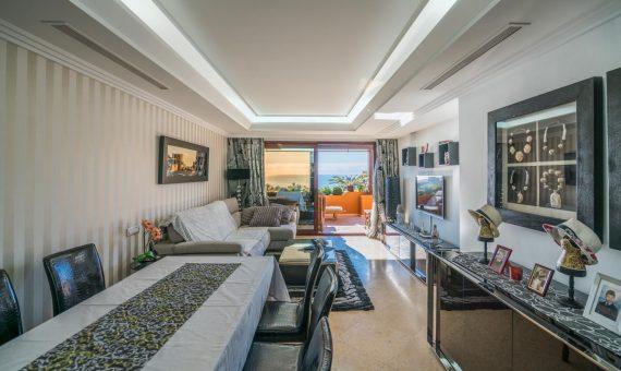 Апартаменты в Эстепоне, Марбелья, 134 м2, сад, бассейн, парковка   | 3