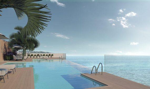 Апартаменты в Эстепоне, Марбелья, 143 м2, сад, бассейн, парковка -