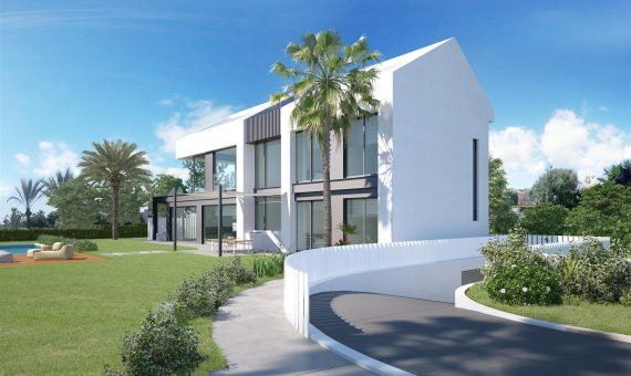 Villa in Marbella 320 m2, garden, pool, parking   | 2
