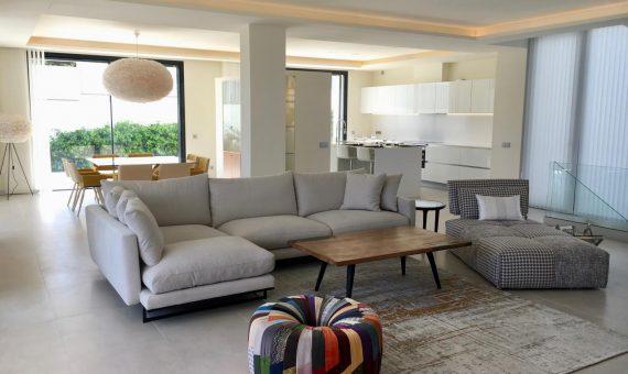 Villa en Marbella Golden Mile, jardin, piscina, aparcamento   | 4