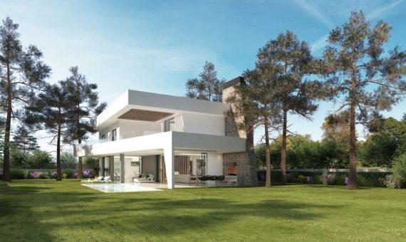 Villa en Marbella Este, 450 m2, jardin, piscina, aparcamento   | 2