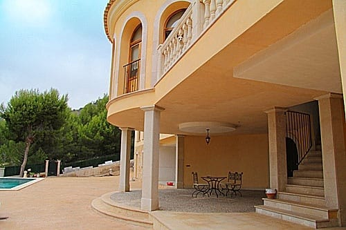 Villa in Peguera, Mallorca, 400 m2, pool -