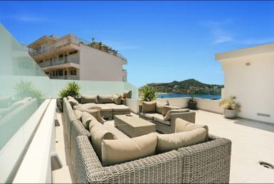 Апартаменты в Санта-Понса, Майорка, 100 м2, бассейн