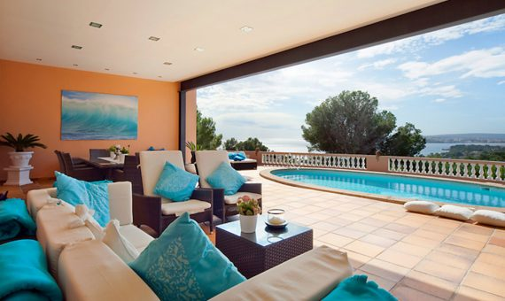 Villa in Costa d'en Blanes, Mallorca, 380 m2, pool -