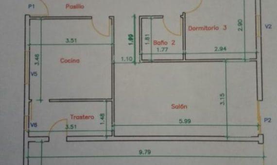 Вилла в Вилафлор, 155 м2, частично с мебелью, сад, террасса, гараж   | 2