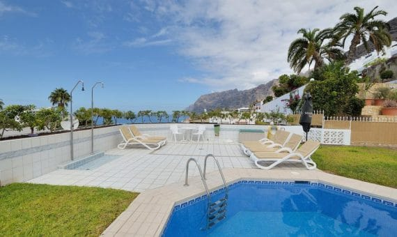Apartment in Santiago del Teide,  Los Gigantes, 164 m2, fully furniture, garden, terrace, garage, parking   | 3