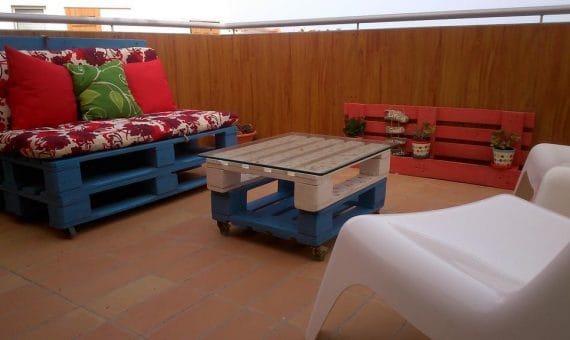 Apartment in Granadilla,  El Medano, 85 m2, fully furniture, terrace, balcony   | 1